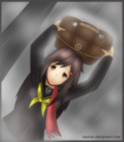Rainy Days in Inaba .:part1:. by sylphan