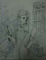 Doctor Who, David Tennant by NicoBlue