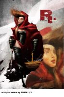 Medieval Red Ridinghood by prmn