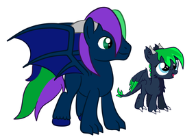 Nyon is being taught by Tornado Twist by DragonLoverartis