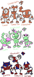 Mxls: My Own Mixels by ZootyCutie