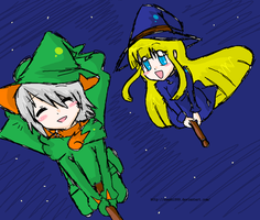 lemres and witch by awashi999