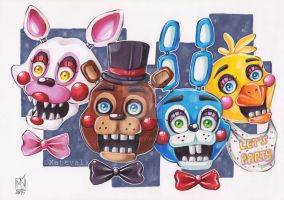 Five Nights at Freddy's 2 by Kattvalk