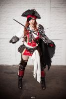 Anne Bonny - Atlantica Online - crossed swords by nobuchi