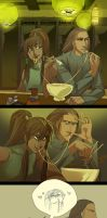 Korra Food Face Bedroom Eyes by blix-it