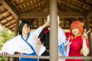 Gintama - smile for the picture by visuvampy