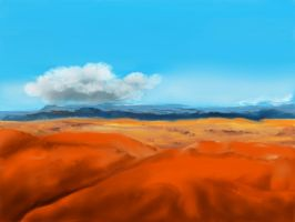 Painted Desert by teddybearcholla
