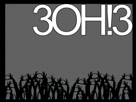 UNFINISHED 3oh3 wallpaper by sarahsoulsister