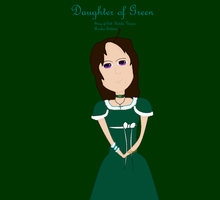 Daughter of Green (only MS paint) by lollimewirepirate