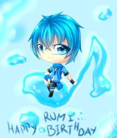 Happy Birthday Rumi-Aqua by JigokuShii