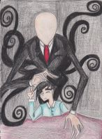 Slender man Cometh for you Danny by kathlien