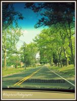 Driving down the Street by EuphoricPhotographs