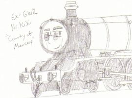 Mersey the County Class by omega-steam
