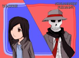 Skulduggery Pleasant by iPancakes