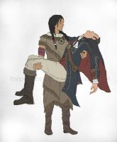 Ziio and Haytham by ThePotatoStabber