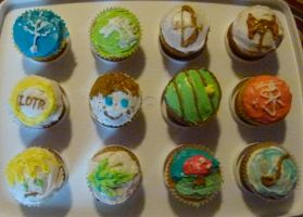 Lord of the Rings Cupcakes by RavenclawHobbit