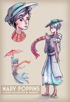 Mary Poppins concept by AngieMyst