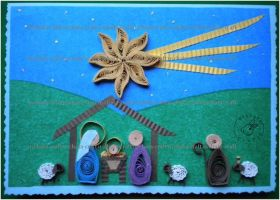Quilling - Card 26 by Eti-chan