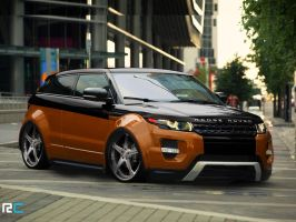 Range Rover Evoque Coupe Dynamic US-spec '2011 by Rodrigodesign8