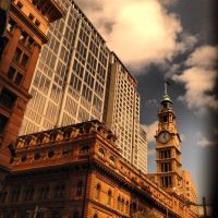 Cityscape Clock-tower by GarrettBrothers