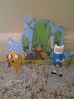 Finn and Jake Collectors pack by SpongeDudeCoolPants