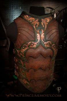 Warrior Rogue Breastplate by Azmal