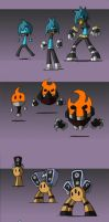 -Sketch- Pet Concepts Set 1 by TheonknownKLAW