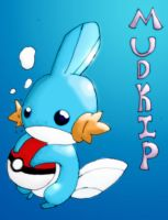 mudkip by calicobird