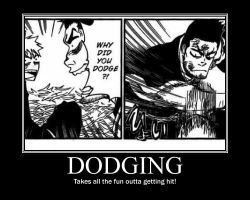 Bleach Motivational- Dodging by InuSess-TopBottom
