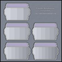 Palette Adoptables Templates by Neyjour