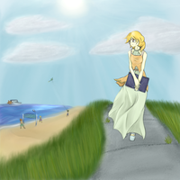 Day 04: A Lilly in the breeze by Matt-Flame