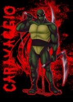 Caravaggio - TMNT fan-char - colored by oomizuao