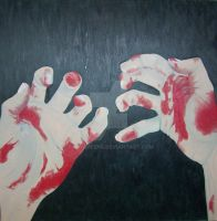 Bloody Hands by Boxyqueens
