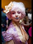 Effie Trinket Cosplay by Spazzyxremnant