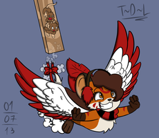 Soaring High by Tails-Doll-Lover