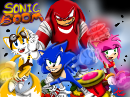 Sonic Boom,Baby!! by InvdrScar
