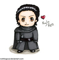 Chibi Kylo Ren by NothingSoul