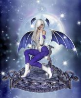 Magic Succubus Throne by sweetpoison67