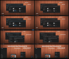 Max Mix Dark Bue and Red For Win10 Anniversary Up1 by Cleodesktop