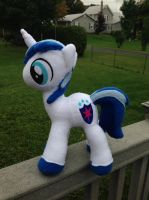 Shining Armor Plush - FOR SALE by TellabArt