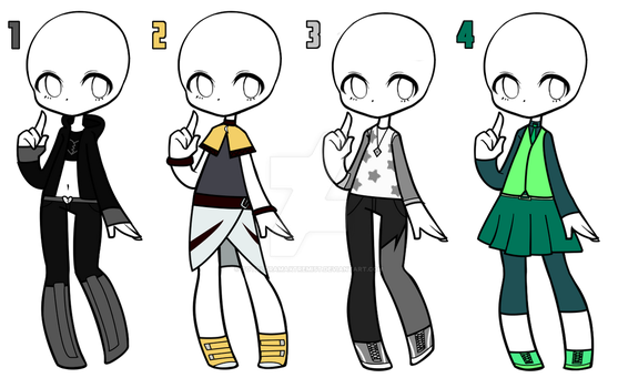 TDX's Outfit Adopts #2 (Points Only/OPEN) by TotalDramaXtremist