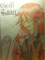 Grell Sutcliff by Pencil13