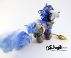 Krystal from StarFox custom by thatg33kgirl