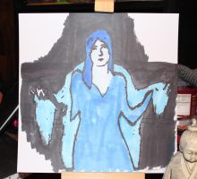 Lady In Blue by Rocail-Studios