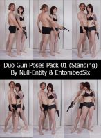 Duo Gun Poses Pack 01 (Standing) by Null-Entity