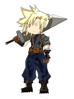 ragnarok cloud strife by renzantolin