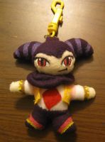 Chibi Nights Keychain Plush by IrashiRyuu