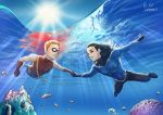 Aqualad and Speedy by Autumn-Sacura