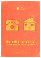 E.T. The Extra Terrestrial Poster - Version 2 by 3ftDeep