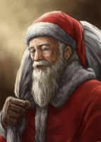 Old Santa Clause by midoriharada